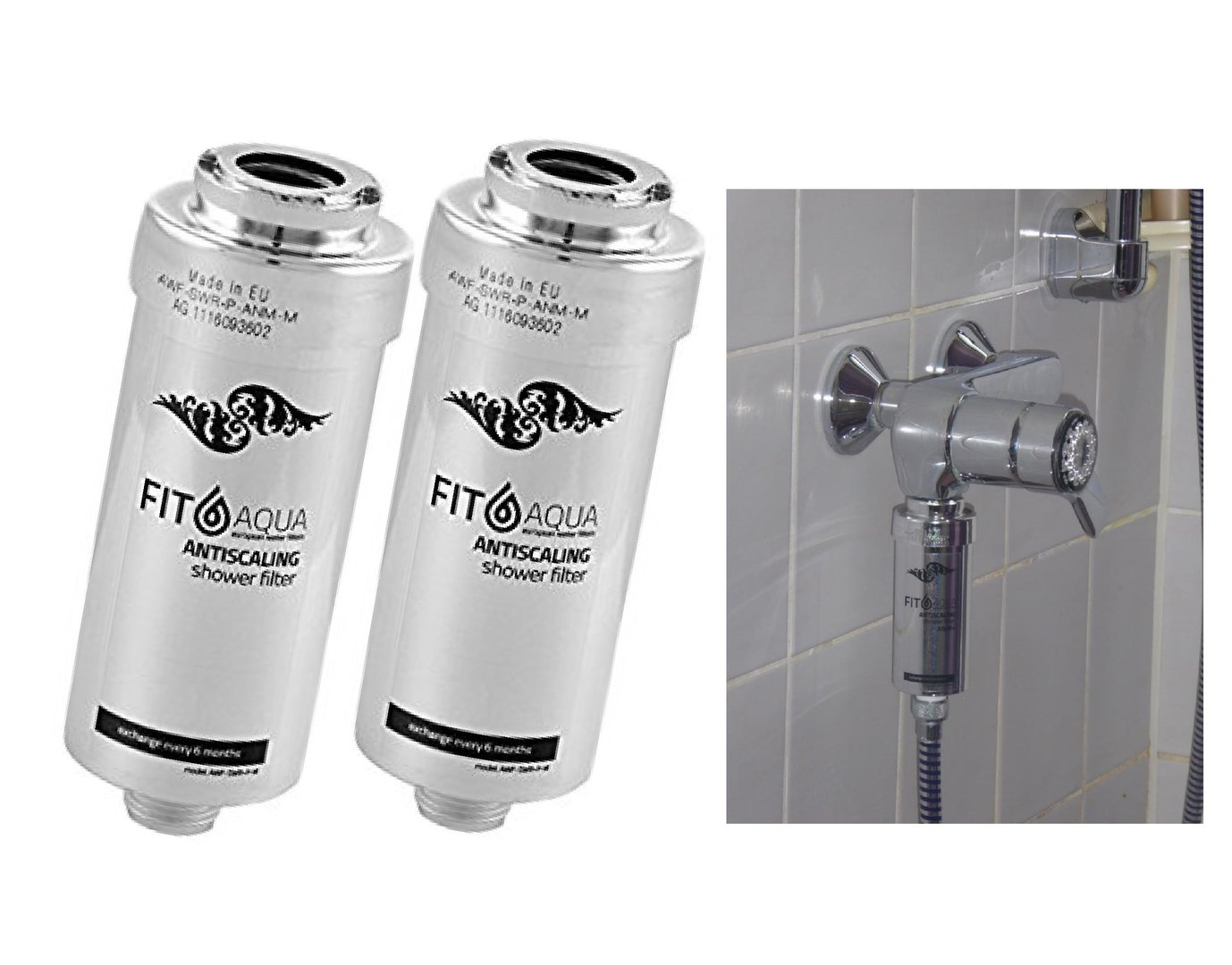 Gorenje Kühlschrank Filter : Duschfilter fitaqua antiscaling wasserfilter für dusche gegen